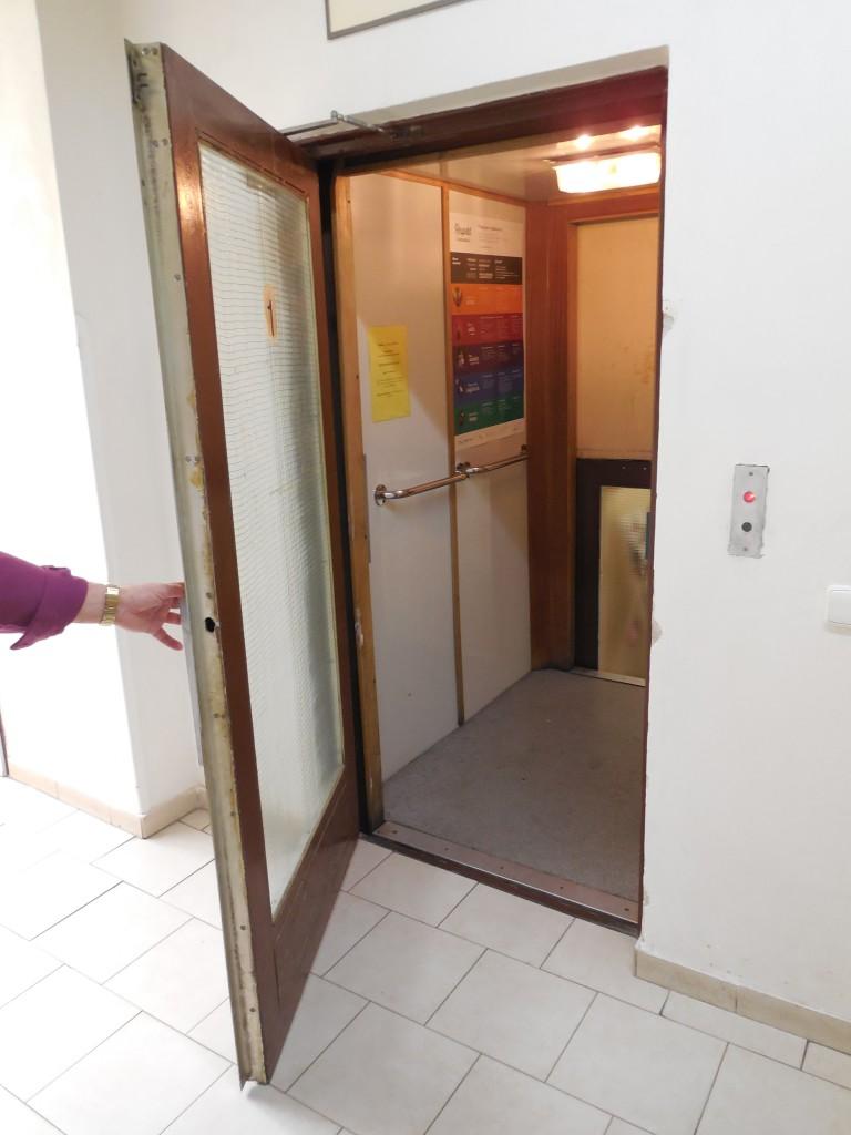 starý výtah